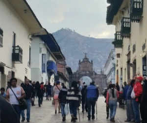 city, travel, and cuzco image