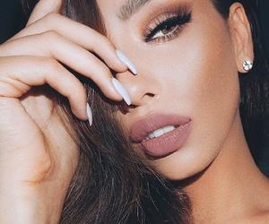 beauty, makeup, and lips image