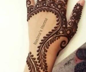 henna, design, and tattoo image