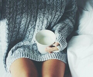 sweater and love image