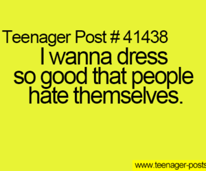 dress, hate, and teenager posts image