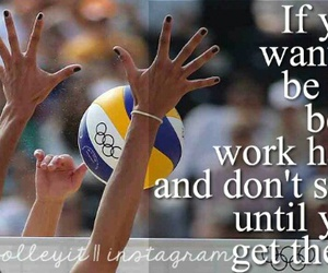 play, volleyball, and ♡ image