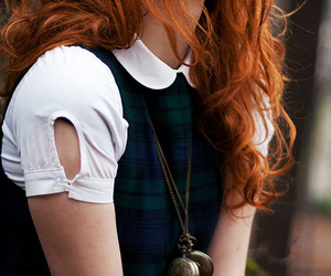 girl and redhead image
