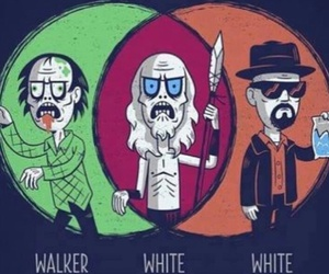 game of thrones, breaking bad, and funny image