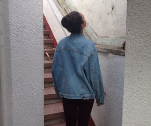 denim, lovely, and fall image