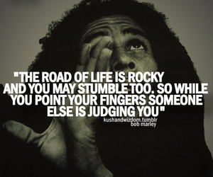 bob marley and quote image