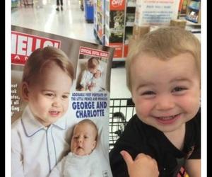 funny, baby, and prince image