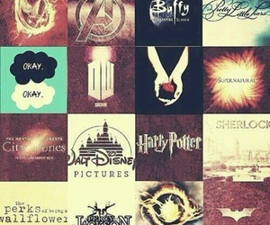 divergent, harry potter, and disney image