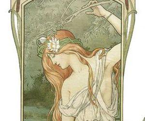 Art Nouveau and art image