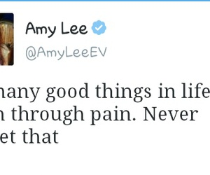 amy lee and quote image