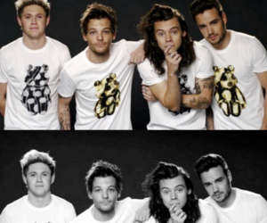 one direction, harry, and louis image
