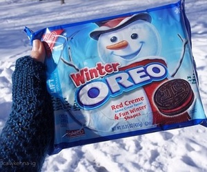 oreo and winter image
