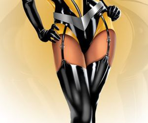 sexy, watchmen, and silk spectre image