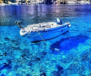 blue, mar, and Greece image