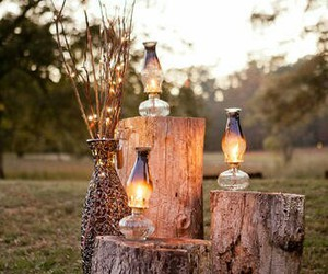 decorations, lanterns, and rustic image