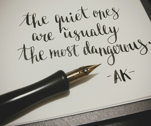 handlettering, mine, and modern calligraphy image