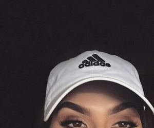 adidas and eyebrows image