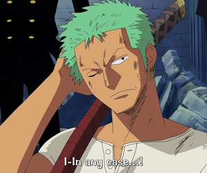 zoro and one piece anime image
