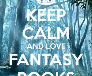 book, fantasy, and keep calm image