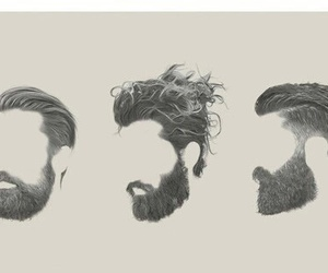 hair and beard image