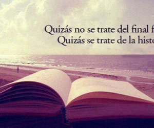 book, history, and frases image