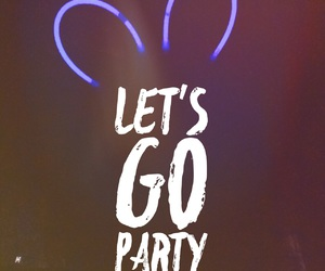 fun, glow in the dark, and party image