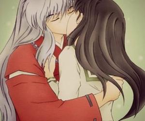 anime, inuyasha, and love image
