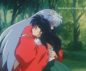 inuyasha, love, and kagome image
