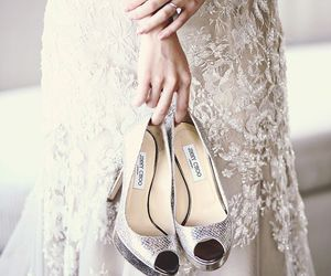 beauty, dress, and shoes image