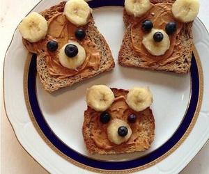 banana, sweet, and love image
