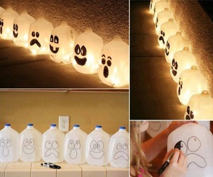Halloween, diy, and light image