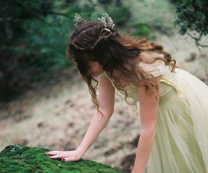 girl, fairy, and nature image