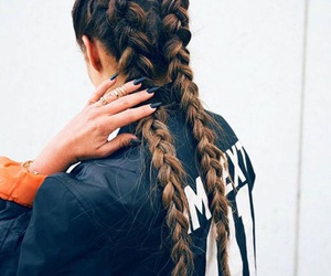 adidas, braid, and brands image