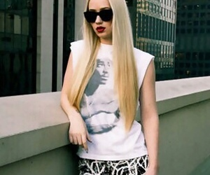 iggy azalea, blonde, and hair image