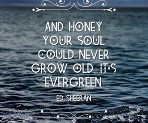 ed sheeran, Lyrics, and music image