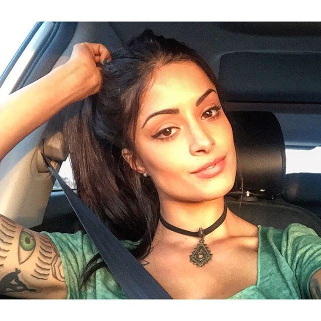 choker, latina, and makeup image