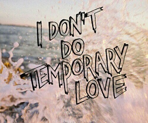 love, quote, and temporary image