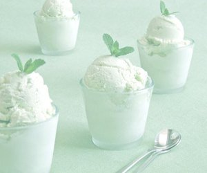 ice cream, mint, and sweet image