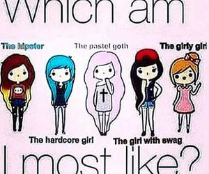 girly, hipster, and swag image