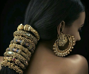 indian and jewelry image