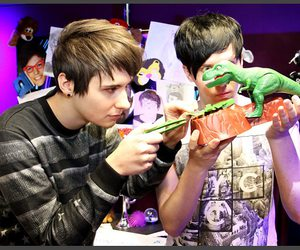 youtube, danisnotonfire, and phan image