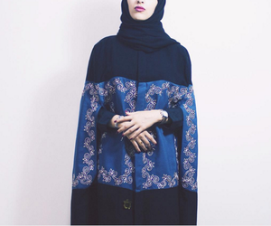 beautiful, hijab, and abaya image