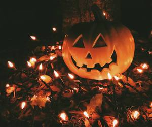 Halloween, jack-o-lantern, and october image