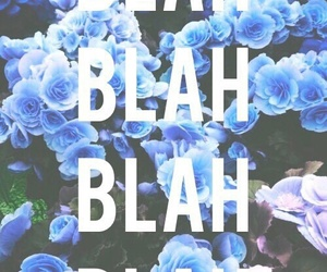 wallpaper, flowers, and blah image
