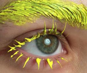 yellow, eyes, and eye image