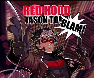 anime, jason todd, and batfamily image