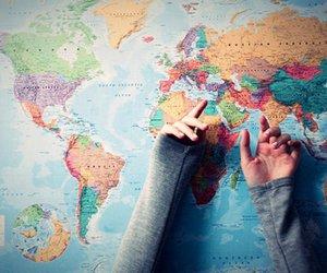 big, girl, and geography image