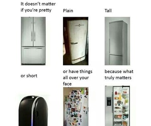 funny, fridge, and people image