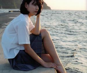 asia, blue, and fashion image
