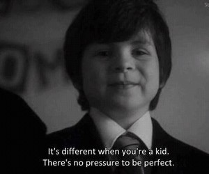 perfect, kids, and black and white image
